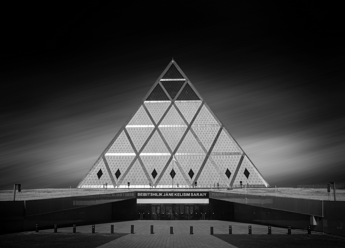 Invisible Light - 32 The Pyramid (Nur Sultan, Kazakhstan) - 2019_[h08]